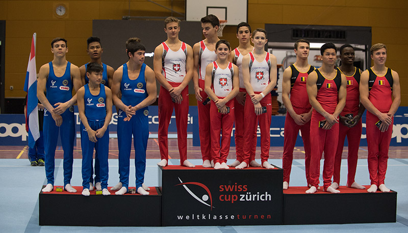 Impressions of the Swiss Cup Juniors 2016